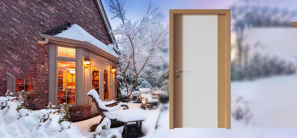 Качествени интериорни врати - начин да спестим от средства за отопление през зимата