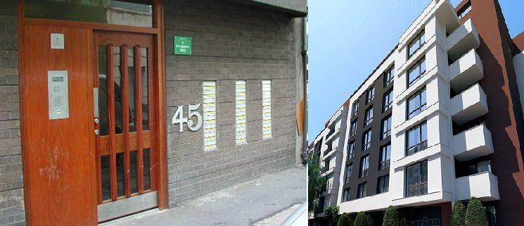 Входна врата за блок от Врати ABC
