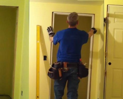 Извършване на монтаж на интериорни врати