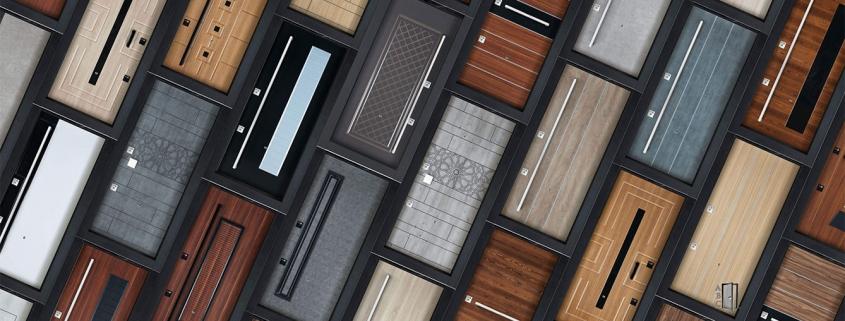 Дизайн и креативни идеи при интериорните/входните врати 2019